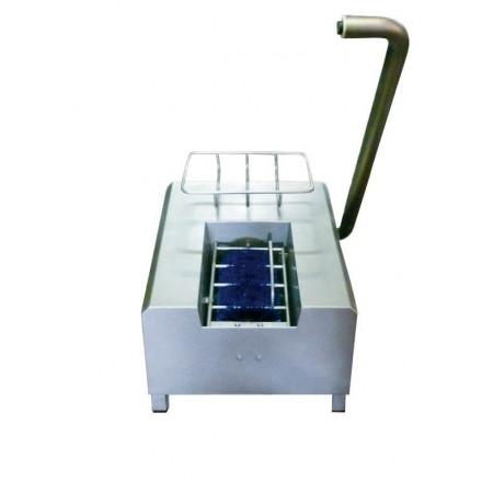 Lave-bottes électrique en inox à mélange automatique