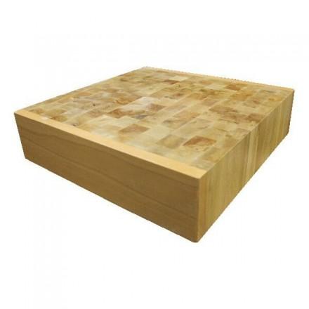 Bloc de découpe en bois debout