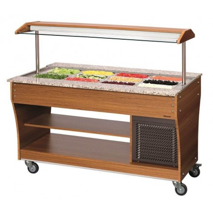 Buffet froid professionnel 4xGN1/1