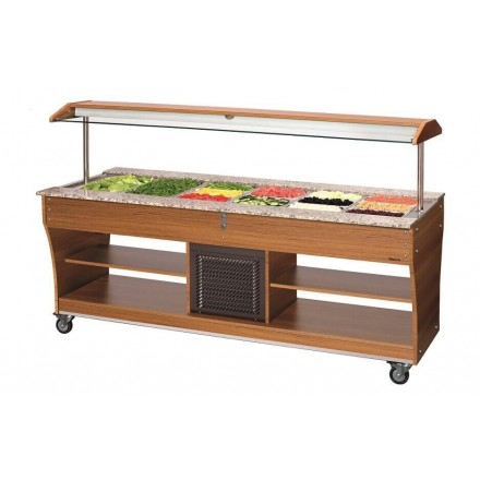 Buffet froid professionnel 6xGN1/1
