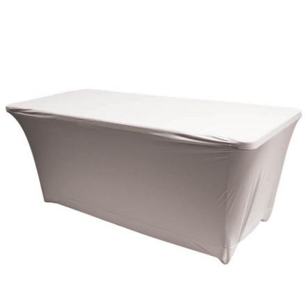Housse de table NIMES blanche
