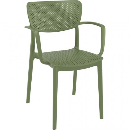 Fauteuil ROYAN vert olive