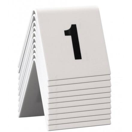 Numéros de table 1 à 10