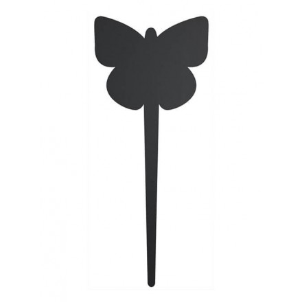 Silhouette tag BUTTERFLY