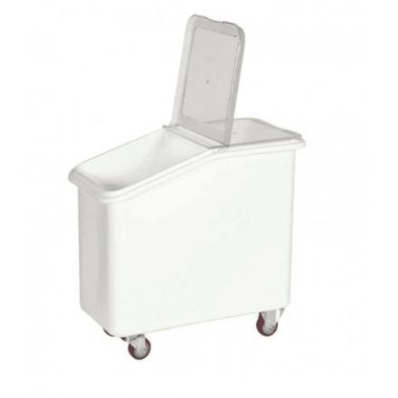 Bac à farine/sel 102L PEDH  Cuves inox/bacs à glace