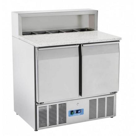 Saladette réfrigérée 2 porte GN1/1 COOL HEAD