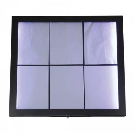 Porte-menu lumineux ACIER GALVA 6xA4