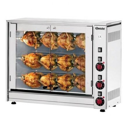 Rôtissoire électrique à poulets P12N Bartscher
