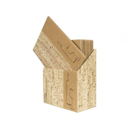 Box de 10 cartes des vins CORK