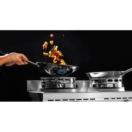 Cuisinière wok à gaz GWH2 BARTSCHER