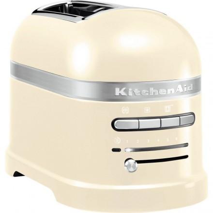 Grille-pain Artisan 2 fentes KitchenAid crème