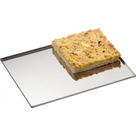 Plaque pâtissière inox 433x333mm