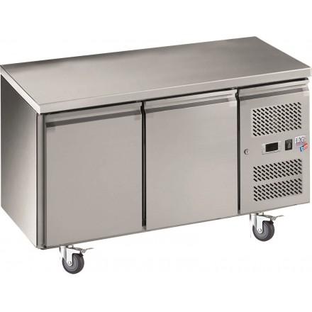 Table réfrigérée 2 portes sans dosseret GN2100TN
