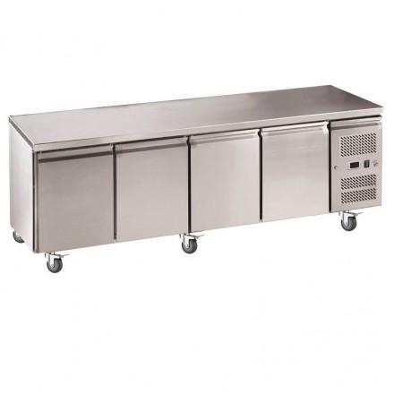 Table réfrigérée centrale 3 portes GN4100TN