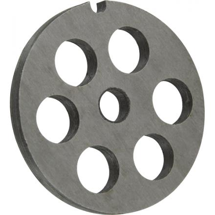 Grille inox ø15mm pour hachoir manuel N°10 La Bonne Graine