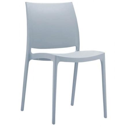 Chaise de jardin Toulon gris clair