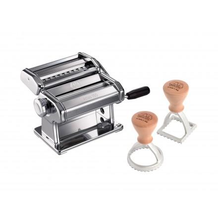 Machine à pâtes manuelle Atlas 150 + 2 moules