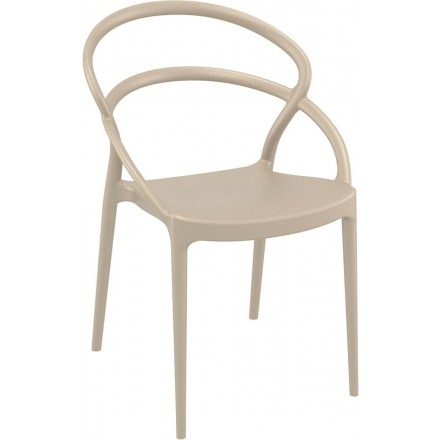Chaise SETE taupe