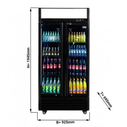 Vitrine réfrigérée à boissons 630L