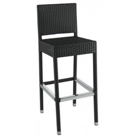 Chaise haute SARAH noir