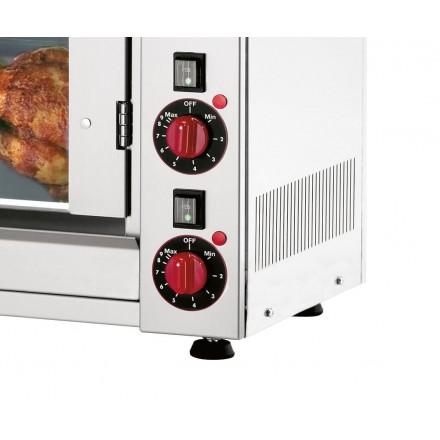 Rôtissoire professionnelle électrique 8 poulets Bartscher