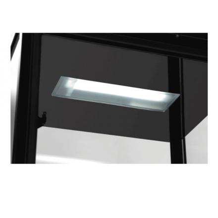 Mini vitrine réfrigérée noire 78L bartscher