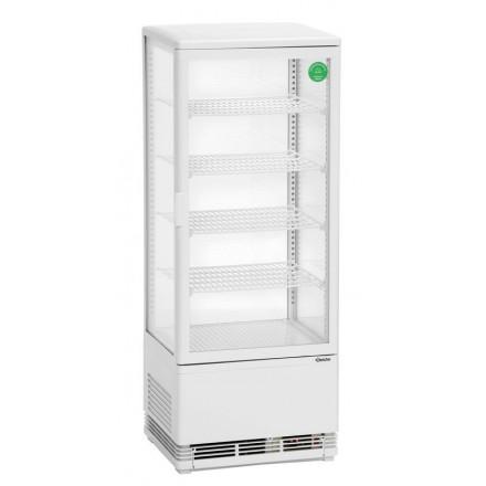 Vitrine réfrigérée blanche 98L