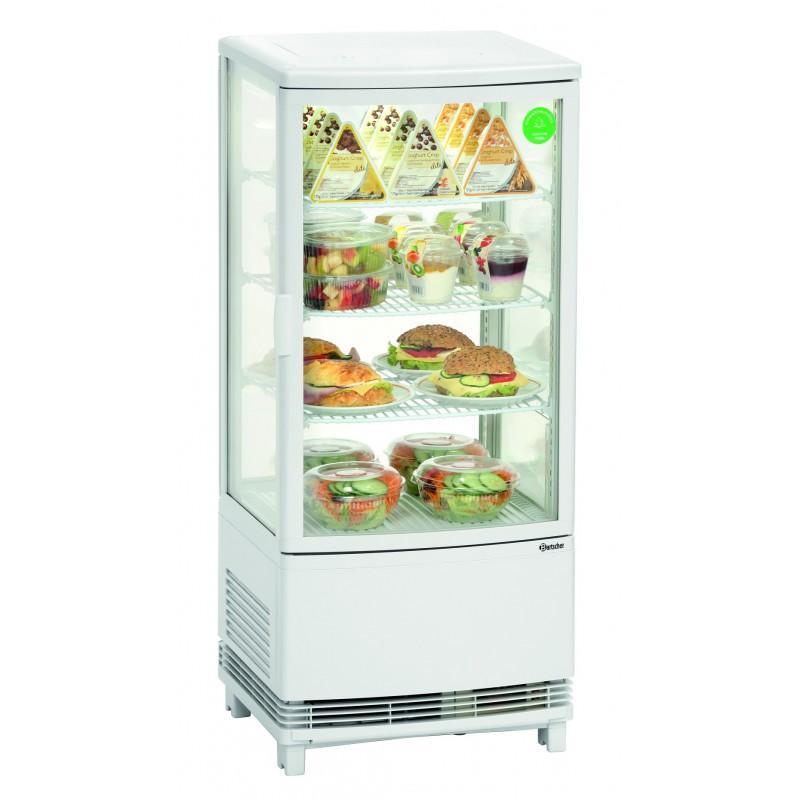 Mini vitrine réfrigérée blanche 86L