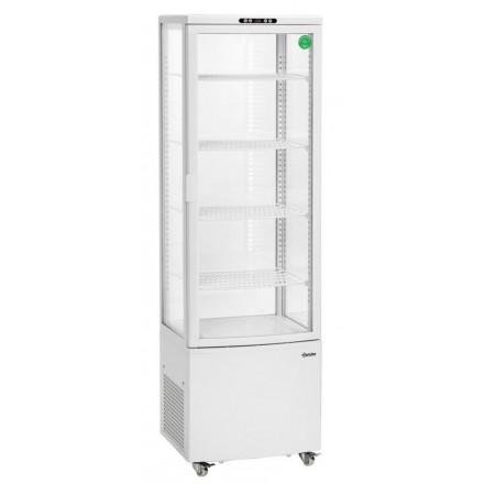 Vitrine réfrigérée blanche 235L