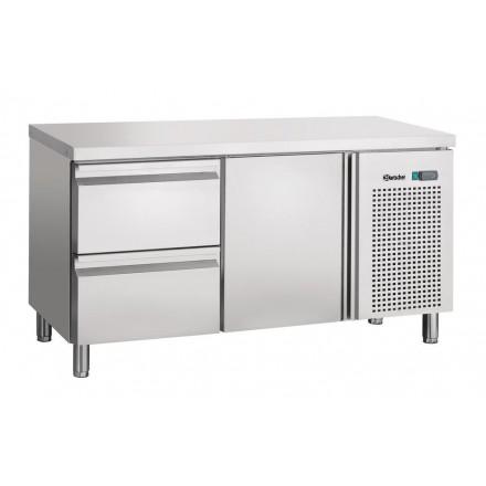 Table réfrigérée 1 porte et 2 tiroirs GN1/1