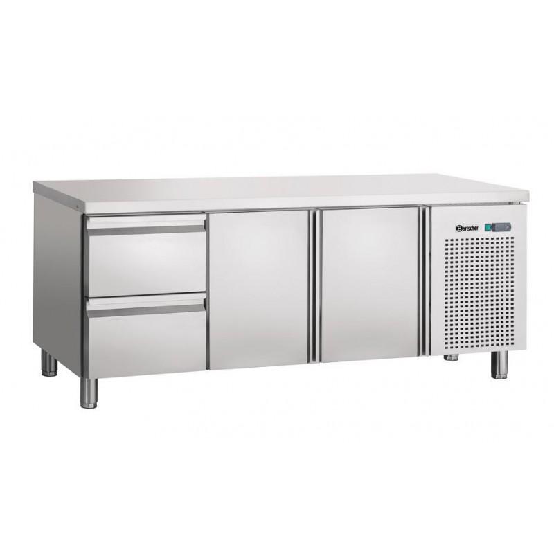 Table réfrigérée 2 portes et 2 tiroirs GN1/1