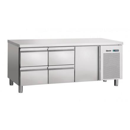 Table réfrigérée 1 porte et 4 tiroirs GN1/1