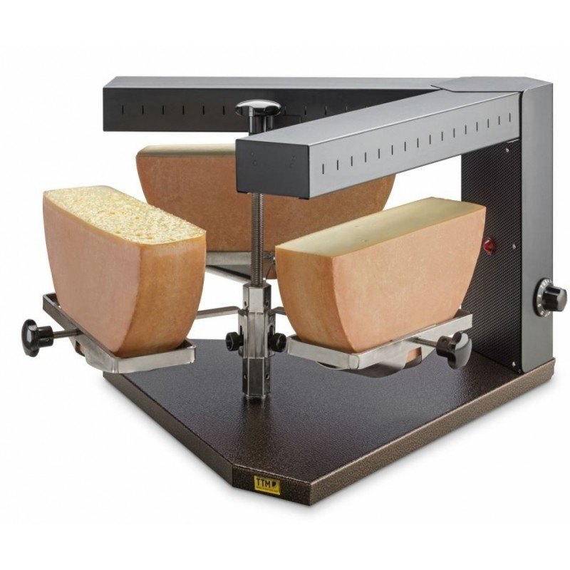"""Appareil à raclette """"TRIO"""" pour 3x1/2 fromage"""