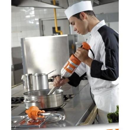 Sauteuse wok inox W385R 385mm