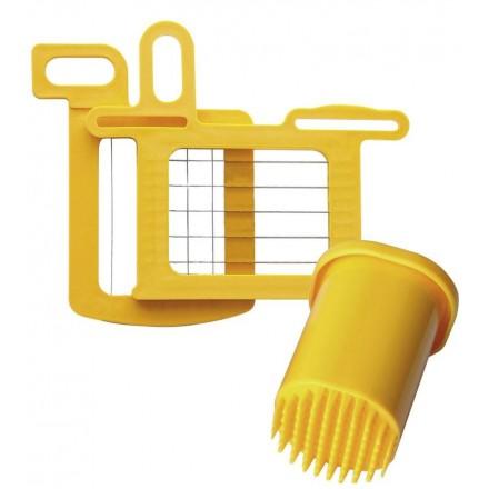 Kit grilles 14x14mm + poussoir pour Dynacube