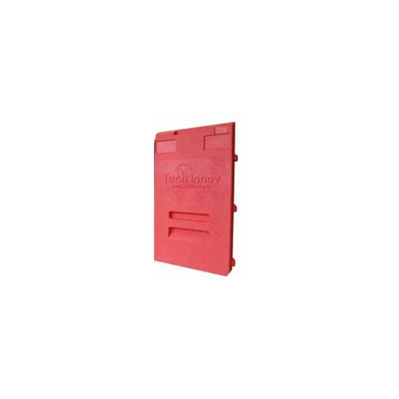 Porte rouge pour coffre isotherme 8xGN1/1