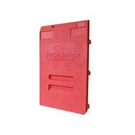 Porte rouge pour coffre isotherme 10 niveaux 400x600mm