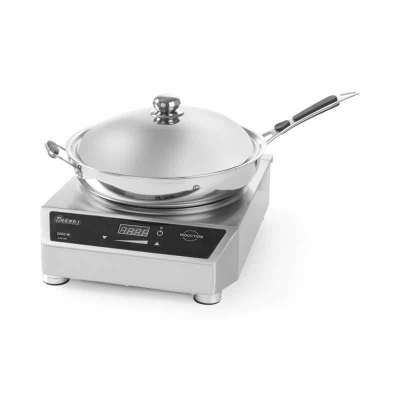 Kit wok + plaque à induction 3500W