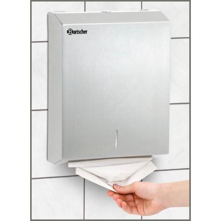 Distributeur d'essuie-mains inox
