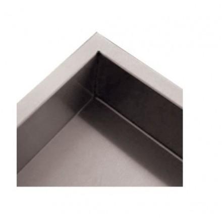 Dosseret latéral pour table de travail inox