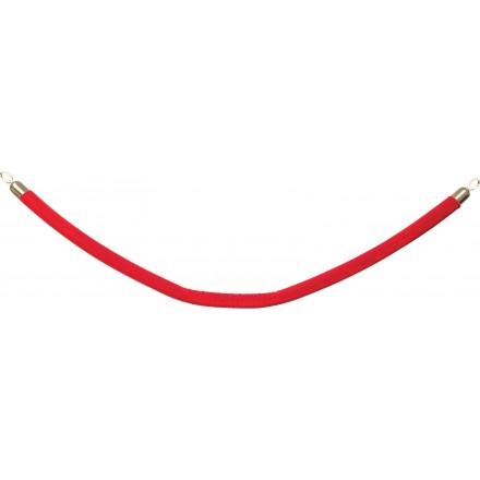Cordes embout dorés - 5 coloris au choix