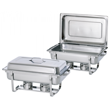 "Lot de 2 chafing dishes GN1/1 ""TWIN PACK"""
