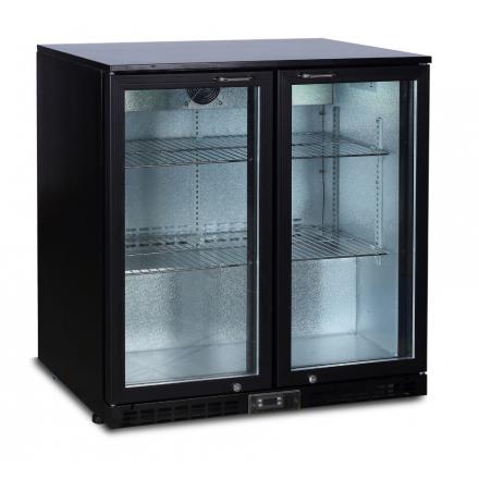 Arrière bar réfrigéré 208L CORECO à portes battantes
