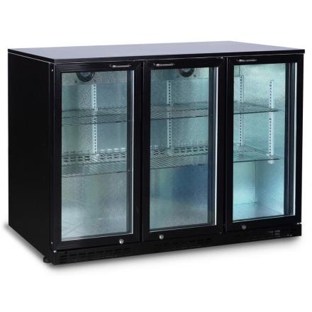 Arrière bar réfrigéré 320L portes battantes