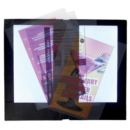 Lot de 20 inserts transparents imprimables A4