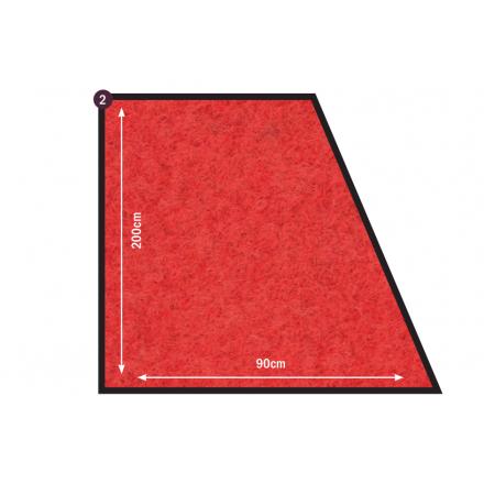 Piétement de table rectangulaire ANAÏS