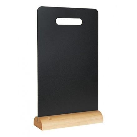 """Ardoise de table """"carry"""" socle bois SECURIT Ardoises de table """"WOOD"""""""