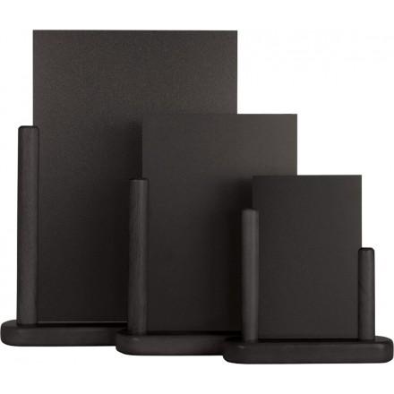 """Ardoise de table """"ELEGANT"""" noir"""