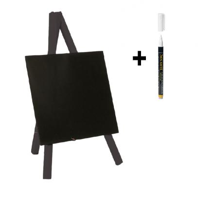 """Chevalet de table """"MINI"""" noir SECURIT Chevalets de table """"MINI"""""""