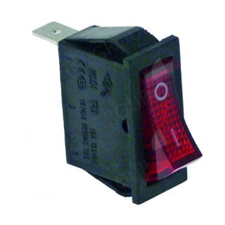 A0ND021 - Interrupteur ON/OFF rouge pour percolateur BARTSCHER